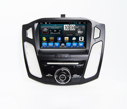 Wholesale Ford Focus Car Stereo - Car Radio Touch Screen Bluetooth DVD Players In Car DVD Entertainment System For Ford Focus 2015