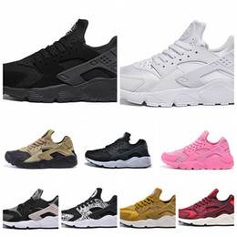 2019 huarache schuhe männer Mode luft Huarache Ultra Schuhe Huarach Regenbogen Ultra Atmen Schuhe Männer Frauen Huraches Multicolor Athletic Sneakers Größe 5,5-12 günstig huarache schuhe männer