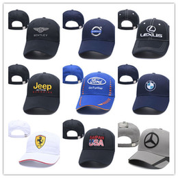 Top Venda Marca Designer 100% Algodão M Logotipo Da Energia Ajustável Snapback Bordado BMW Chapéu de Beisebol Do Carro Unisex Racing Baseball Cap supplier race cars sales de Fornecedores de vendas de carros de corrida