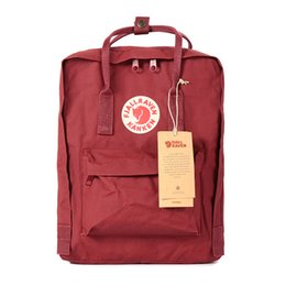 Wholesale canvas backpacks peach - School Bag Wholesale- 2017 New Backpack middle School student Girls double shoulder Canvas bag Lovers Leisure Travel Bag