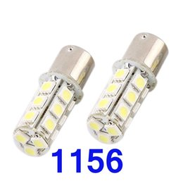 Wholesale 18 Smd 1156 Led Lights - 2pcs 1156 Multifunctional Bright White 18-SMD LED Car Tail Lights CEC_409