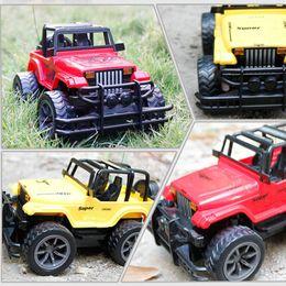 Juguetes de coches viejos online-1: 24 Rc Dirtbike Car Control remoto del coche Rc para niños Birthsday regalo Kid Toys modelo de coche para más de 6 años de regalo del niño
