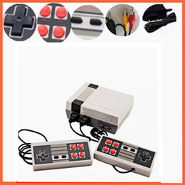 Wholesale Mini Handheld - 2018 New Arrival Mini TV Game Console Video Handheld for NES games consoles with retail boxs hot sale dhl