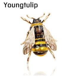 CINKILE Emaye Arı Broş Unisex Böcek Broş Pin Kadınlar ve Erkekler Takı Sevimli Küçük Rozetleri Moda Takı Toptan Fiyat nereden jurassic park dinazorları tedarikçiler