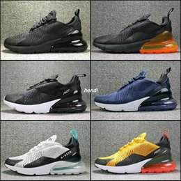 Wholesale Training Shoes For Women - Newest design Flair air 270 Shoes mans training sneakers 2018 Running Shoes for men women boots walking sport boosts fashion athletic shoe
