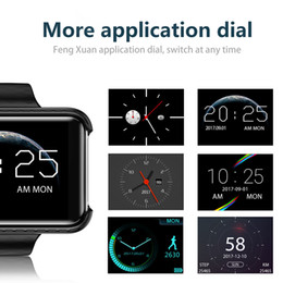 Wholesale mp3 mp4 watch mobile phones - DM98 Smart Mobile Watch 2.2-inch MTK2502C Pedometer SIM Video Record Music TF Card Extend GSM MP3 MP4 Camera Smartwatch phone
