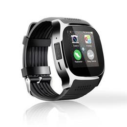 2019 reloj t8 NUEVO T8 Bluetooth Smart Watch con cámara Sedentary Recuerda Sleep Monitoreo Soporte SIM TF Tarjeta de llamada Smartwatch para teléfono Android reloj t8 baratos