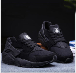 Wholesale Shoes Casual Men Lowest Price - 2018 low price High Quality Air Huarache 3 Ultra Run Mesh Breathe Running Casual shoes Mesh Men Women's Huaraches Sneakers Size 36-44 Eur