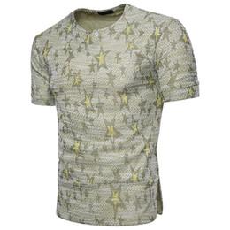 Canada T-shirt homme au vent africain, design jacquard, décoration, t-shirt respirant à la mode, à la mode et dynamique pour hommes. supplier fashionable decoration Offre