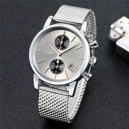 c6ac7e034b5a reloj suizo Rebajas Nueva moda para mujer Relojes suizos Hombres Cronógrafo  Reloj de cuarzo Fecha deportiva