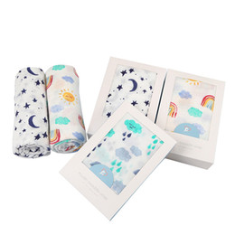 Wholesale Bamboo Blankets Wholesale - Swaddle Blanket MUSLIN Double-layer Bamboo Fiber 47*47' Bath Towel Washcloth Scarf Soft and Hypoallergenic Breathable for Baby Boy Baby Girl