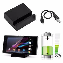 2018 Yeni Manyetik Masaüstü Şarj Dock İstasyonu Şarj Cradle USB Kablosu SONY Xperia Z1 Z2 Z3 Beyaz Toptan sıcak yeni nereden