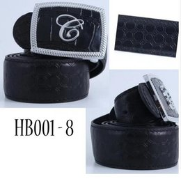 Wholesale 38 pin - 2018- belt new casual black alloy clasp pin buckle fashionable British design belt