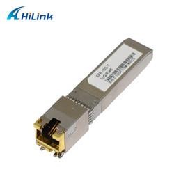 Бесплатная Доставка! СФП-10г-Т 10г гигабитный Ethernet 30М порта 10GBASE-T Медный RJ45 и SFP для от