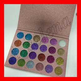 Wholesale Eyeshadow 24 Colors - CLEOF Eye Shadow Cosmetics Glitter Eyeshadow Palette 24 Colors Makeup Shimmer Eye Shadow Palette free shipping