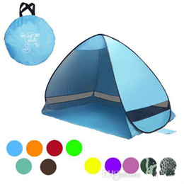 beach tents Coupons - Brand Designer - Simple Tent Easy to Carry Outdoor Camping Accessories for 2-3 People for UV Protection Tent on CCA9390 10pcs Beach Tourist