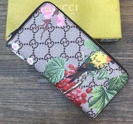 Wholesale big women wallet - Long Wallet Genuine leather wallet high quality famous big designers clutch bag women handbag shoulder messenger bag coin purse