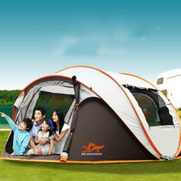 e2a0fce2260a64 2018 zelt camping ausrüstung 5-8 Person Tourist Zelt Outdoor Camping Strand  Natur Wanderung Pop