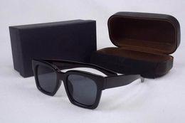 vidros de marca da marca v Desconto Estilo moda gm v marca óculos de sol das mulheres dos homens de design da marca moldura quadrada óculos de sol uv400 oculos de sol feminino com caixa de caso