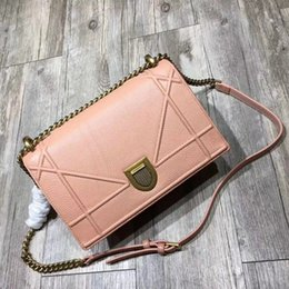 Wholesale promotional leather - Women Bag Genuine leather top quality luxury brand designer famous shoulder bag new fashion promotional discount wholesale