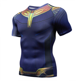 велосипедные принты Скидка 2018  Marvel  Rashgard running tops T-shirt 3d printing bicycle Jersey gym Weightlifting Base Layer Fitness Shirt
