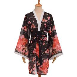 Sakura kimono online-Estilo japonés Sakura Kimono Cardigan Yukata