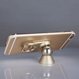 сильная магнитная подставка Скидка Новые предметы 2 в 1 металлическая кошка палец кольцо сильный магнитный Магнит 360 вращающийся Универсальный автомобильный держатель телефона GPS крепление стойки стола OTH785