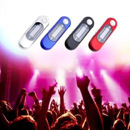 flash player mp3 Desconto Mini Flash USB MP3 Player Tela LCD Suporte Flash 32 GB TF / Slot Para Cartão SD Digital mp3 music player
