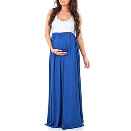 new Women Long Dresses Maternity Nursing Dress for Pregnant Women Pregnancy  Women s dress Clothing Mother Home Clothes L XL XXL de06070edb04