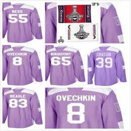 Mens 2018 Stanley Cup Final Champion Washington Capitals 83 Jay Beagle Hockey  Jerseys Aaron Ness Alex Ovechkin Chiasson Andre Burakovsky 82e480776