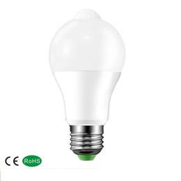 проектирование освещения коридора Скидка Лампа освещения B22 E27 PIR датчик движения алюминиевый дизайн светодиодный ночник 10 Вт 85-265В лампа для балкона коридор путь сад