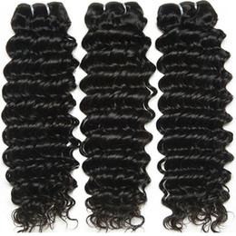 Extensions de cheveux incroyables en Ligne-dubai shopping en ligne incroyable !!! 8A MalaysianTight Curl Remy Hair Weave, extension de cheveux 100% sans traitement de trame double
