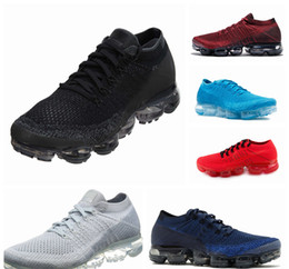 Wholesale Max Men Running Shoes - 2018 New Rainbow VaporMax TN Plus BE TRUE Men Woman Shock Running Shoes For Real Quality Fashion Mens Casual Vapor Maxes Sports Sneakers