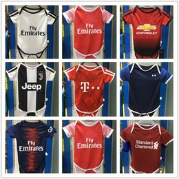 2018 2019 Ronaldo baby soccer Jerseys ICARDI ASENSIO ISCO MESSI JAMES  ALEXIS BYBALA REUS POGBA KANE JR MBAPPE football shirt bc6b22e81