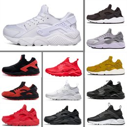 56bbce08edec35 nike air huarache Nouveau créateur de mode Huarache 1.0 4.0 Originaux  Triple blanc Runner Hommes Designer Sport Chaussures de course Hommes  Sneakers Femmes ...