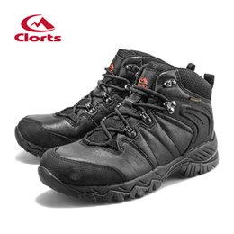 Clorts Cuero genuino Hombres Botas de montaña Zapatos de montaña al aire libre Botas de escalada impermeables Zapatos al aire libre Hkm -822D desde fabricantes