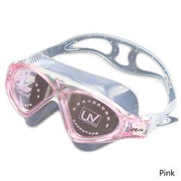 2018 Óculos de natação miopia Anti-Fog UV Esportes eyewear Grande moldura  de óculos de natação de água míope À prova d  água desconto miopia anti-fog a8ff733885
