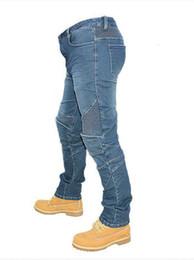 Wholesale cars jeans - BIKE GP Motorcycle jeans Racing car trousers slim denim pants blue XS 26 S 27 woman