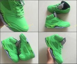 Wholesale camo lycra men - 2018 Jumpman 5 5s Men Basketball Shoes For Men Sports Sneakers Camo Green Trainers OG Designer Shoes Basket Ball Shoe Free Shipping