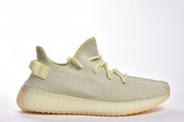 Wholesale coconuts shoes - 2018 High Quality New Style Coconut Shoes Sneakers Fresh Shoes Refreshing Colors Creamy Yellow Men's And Women's Shoes With Box