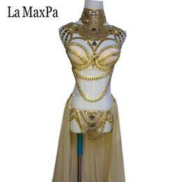2019 dj ds costumi femminile La MaxPa 2017 nuovo arrivo sexy femminile cantante costume dj ds regioni occidentali stile donne costume di scena argento oro vestito da ballo dj ds costumi femminile economici