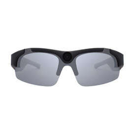 2019 vídeos laranja New hd 1080 p 8 gb / 16 gb / 32 gb câmera inteligente óculos preto / orange lente polarizada óculos de sol câmera ação esporte óculos de vídeo vídeos laranja barato