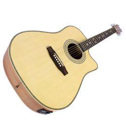 2019 guitare électrique oem st 41 pouces ballade électrique boîte guitare électrique guitare 5 segment pickup instrument de musique en gros acoustique guitare électrique