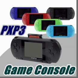 Wholesale Gaming Consoles - DHL Factory Wholesale PXP Games Console Handheld PVP Retro TV-Out Video Game Cartridges PXP Gaming Console B-ZY