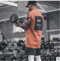 vestes d'entraînement de gymnastique pour hommes Promotion Gymnases Workout Lettre Imprimé Chemise Débardeur Hommes Bodybuilding Vêtements Fitness Hommes Sportwear Gilets Muscle Hommes Débardeurs