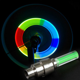 Ruedas de bicicleta LED Lámpara de luz de boquilla Advertencia Bicicleta de seguridad Luz de bicicleta de montaña LED Luz de rueda de radios Luz de radios Velo fresca Luces desde fabricantes