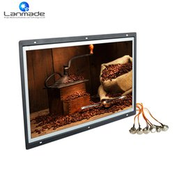Wholesale Bus Tv - 18.5 inch player input 12v digital optical out bus tv led advertising screen with external buttons