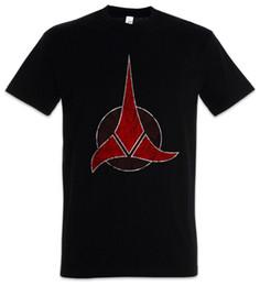 Símbolos de estrelas on-line-KLINGON SÍMBOLO T-SHIRT-Star Klingonen Logotipo Da Empresa Trek Wappen Borg T-Shirt Engraçado frete grátis Unisex Casual tee presente