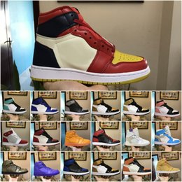 Classic 1 OG mens Basketball Shoes Mandarin duck black red white Gold Top  Quality AAA Athletics Discount Sport Sneakers US 7-13 d960bcd17404