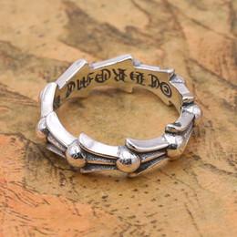 Frauen sterling ringe online-2018 neue 925 Sterling Silber Schmuck brandneue Vintage American European Style handgemachte Designer Womens Band Ring klassische einfaches Geschenk